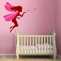 Wall Stickers For Kids Chipakk Magic Dust Fairy Maroon FA1AS