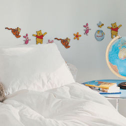 Wall Sticker For Kids Decofun Winnie The Pooh 24 Mini Foam Elements - 23821