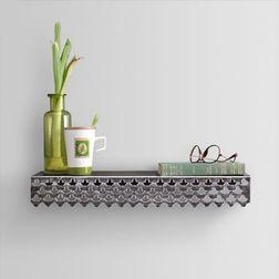 Aasra Decor Elegant Lotus Wall Shelve Decor Wall Shelve, multicolor