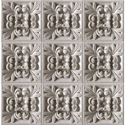Elementto Traditional Floral Design Modern 3D Wallpaper for Walls - td31600, grey
