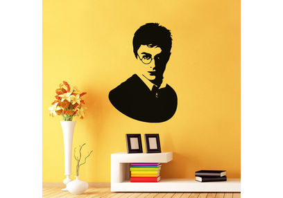 Kakshyaachitra Harry Potter Wall Stickers For Bedroom And Living Room, 18 24 inches