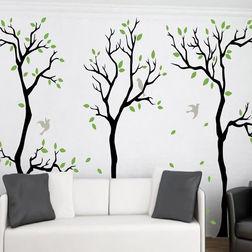 KakshyaaChitra Swinging Trees with Birds Wall Stickers