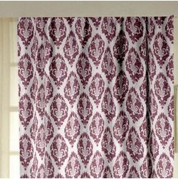Tiara Abstract Readymade Curtain - 12, door, pink