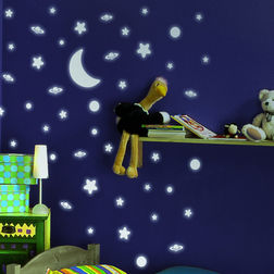 Wall Sticker For Kids Home Decor Line Stars - 79223
