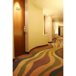 Floor Carpet and Rugs Hand Tufted AC Concept Abstract Yellow Carpets Online - CRD-22-L, 3ftx5ft, yellow