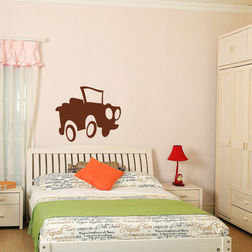 Kakshyaachitra Gypsy On The road Kids Wall Stickers, 28 24 inches