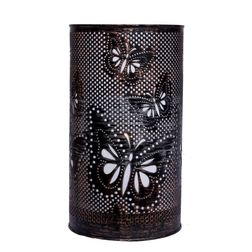 Aasra Decor Golden Black Butterfly Lamp Lighting Table Lamp, multicolor