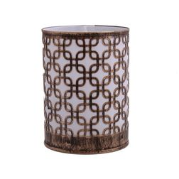 Aasra Decor Square in Square Night Lamp Lighting Night Lamps, gold