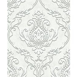 Elementto Abstract Design Modern 3D Wallpaper for Walls - td32700, white