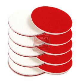 CarPro Rayon Glass Polishing Pads 5 Inches- SET OF 5 PADS