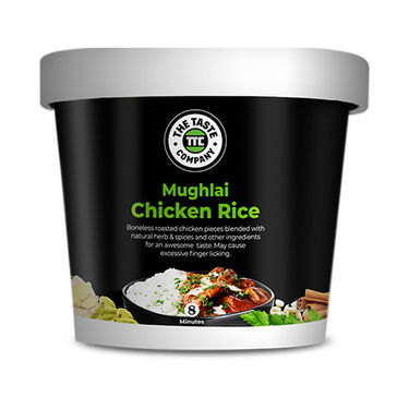 Mughlai Chicken Rice (Serves 1) 90g, Ready to eat meal, The Taste Company