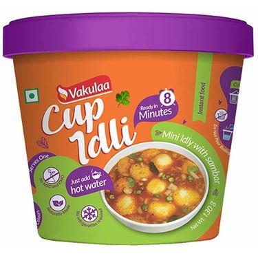 Cup Idli (Serves 2) 130g