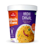 Kadhi Chawal (Serves 1) 80g, Haldirams Minute Khana, Ready to eat