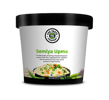 Semiya Upma (Serves 1) 90g, Ready to eat meal, The Taste Company