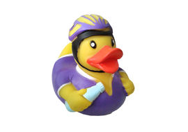 Karlie Vinyl Duck Racer Dog Toy, 4.5 inch