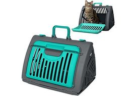 SportPet Travel Master Portable Cat Dog Carrier, green