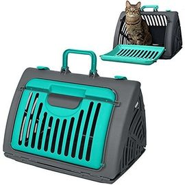 SportPet Travel Master Portable Cat & Dog Carrier, green