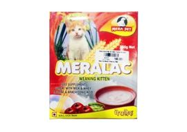 Mera Pet Meralac Weaning Kitten Feed Supplement, 250 gms