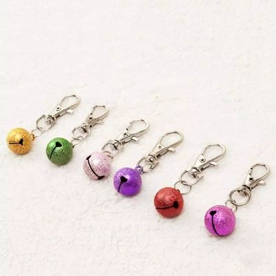 Cute Collar Jingle Charm Bell for Pets, assorted