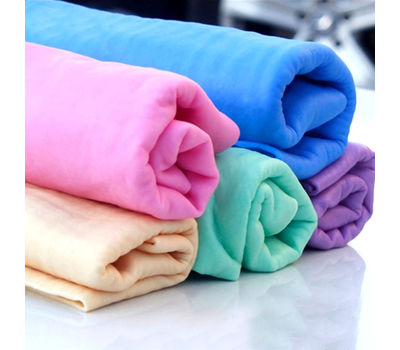 Puppy Love PVA Chamois Web Absorbent Towels for All Pets, blue, universal