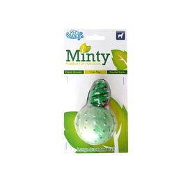Pet Brands UK Large Minty Fresh Rubber Ball for Large Dogs, large