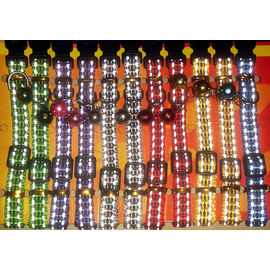 Canine Reflective Cat and Puppy Collar with Bells, yellow