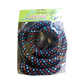 Canine Double Extra Thick Braided Reflective Rope Leash, black, xxl