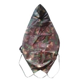 Zorba Designer Dual Protection Camouflaged Military Raincoat for Small Dogs, 14 inch