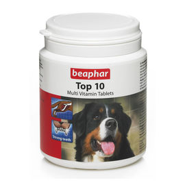 Beaphar Top 10 Multivit Dog Vitamins, small