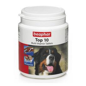Beaphar Top 10 Multivit Dog Vitamins, small