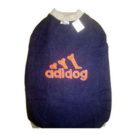 Kennel Fleece Dark Blue Thick Tshirt or Warmer for Small Dogs, dark blue, 10 inch