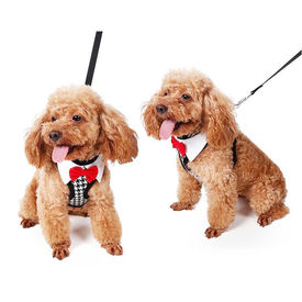 Puppy Love Tuxedo Body Harness for Small to Medium Breed Dogs, extra large