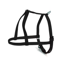 Kennel Nylon Body Harness Belt for Small to Medium Dogs, black, 3/4