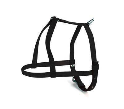 Kennel Nylon Mini Body Dog Belt for Small to Medium Dogs, blue, 3/4