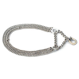 Kennel Triple Semi Choke Chain for Small Dogs, 12 inch
