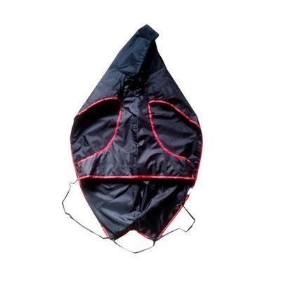 Zorba Designer Dual Protection Dark Raincoats for Small Dogs, black, 16 inch