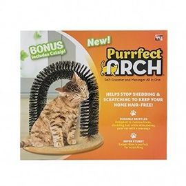 Purrfect Arch Self Groomer Kitten Cat Toy, universal