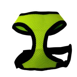 Puppy Love Air Mesh Harness for Small to Medium Dogs, x large , green
