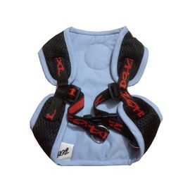 Zorba Designer Body Harness for Toy to Small Breed Dogs, sky blue, 14 inch