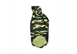 Zorba Designer Camouflage Hoodie Tshirt for Toy Dogs & Cats, 10 inch