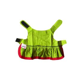 Zorba Designer Green Frock for Small Breed Dogs, green, 16 inch
