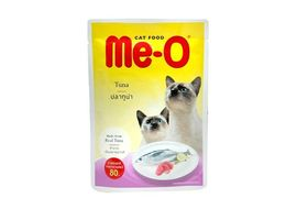 MeO Tuna Gravy Cat Food, 80 gms