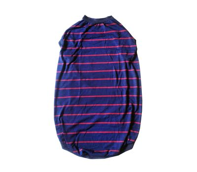 Rays Striped High Quality Tshirt for Giant Dogs, navy blue, 34 inch