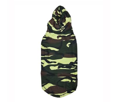 Zorba Designer Camouflaged Hoodie for Giant Dogs, 30 inch
