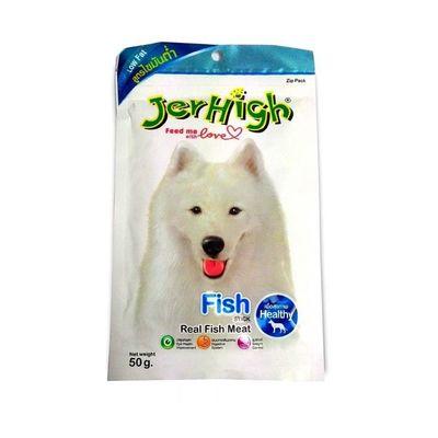 JerHigh Fish Stick Dog Treat, pack of 1