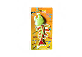 PRC Scented Fish Shaped Dental Dog Toy, 5 inch, parrot green