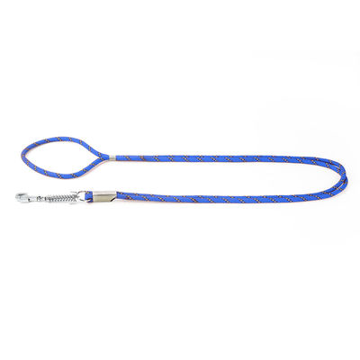 Kennel Thick Spring Shock Absorber Dog Lead for Medium to Large Dogs, blue