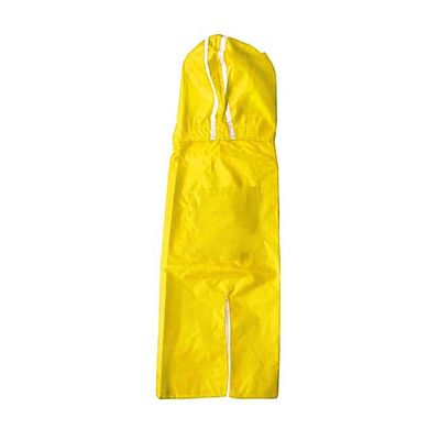 Rays Deluxe Double Protection Raincoat for Medium to Large Dogs, 24 inch, yellow