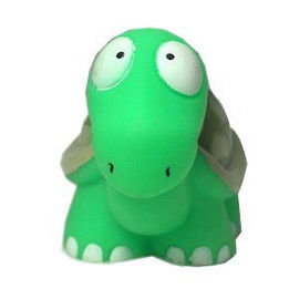 Karlie Vinyl Turtle Squeaky Dog Toy, 4.5 inch