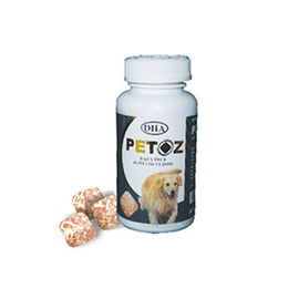 DHA Petoz Mega TestiTab Dog Supplement, 50 tablets